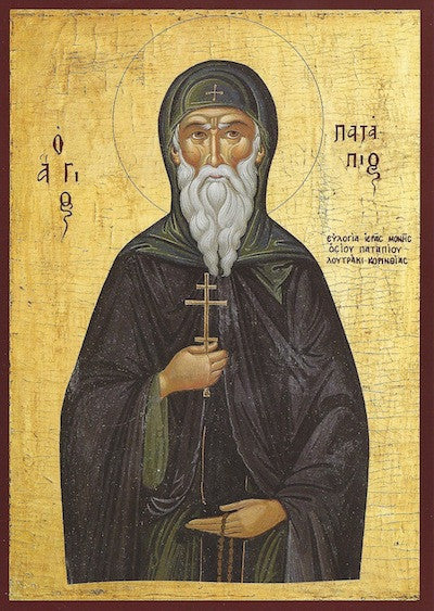 St. Patapius the Righteous of Thebes icon