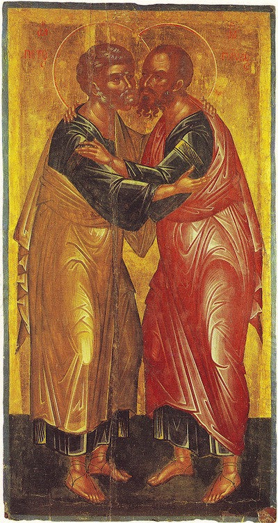 Ss. Peter and Paul the Apostles icon (2)