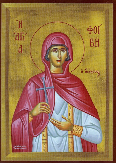 St. Phoebe the Deaconess icon