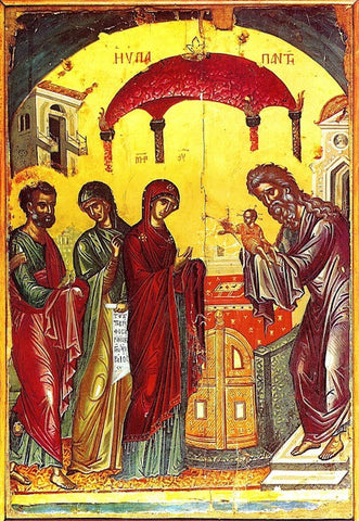 Presentation of Christ to the Temple icon (1)