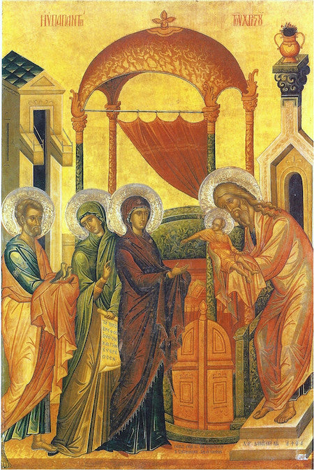 Presentation of Christ to the Temple icon (2)