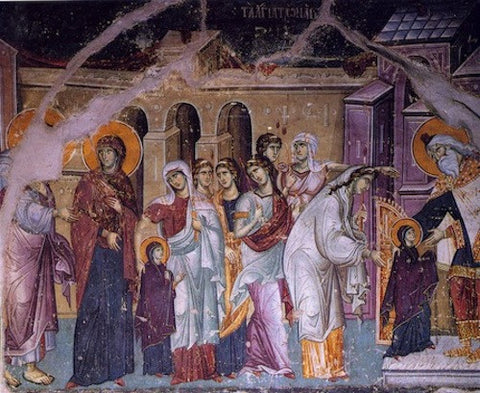 Entrance of Theotokos into the Temple icon (3)
