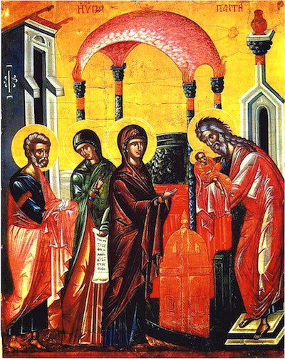 Presentation of Christ to the Temple icon (3)