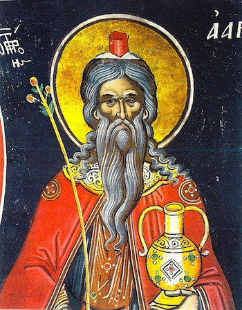 Aaron the Prophet icon (2)