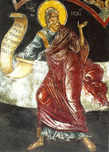 Isaiah the Prophet Icon