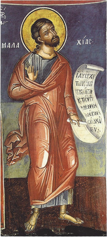 Malachi the Prophet icon