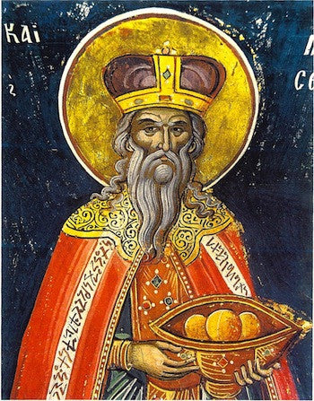 Melchizedek the Prophet icon