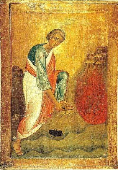 Moses the Prophet Icon