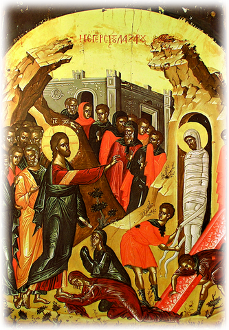 Raising of Lazarus icon (1)