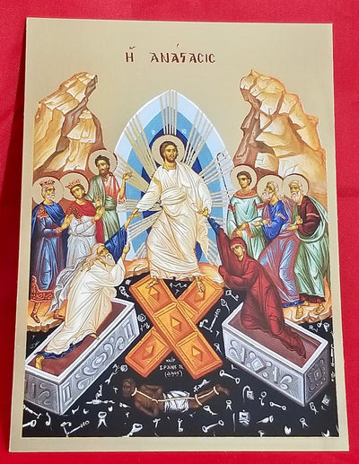 Resurrection of our Lord icon (GF)