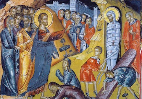 Raising of Lazarus icon (2)