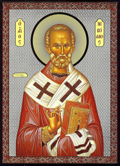 St. Nicholas of Myra Icon (SP)