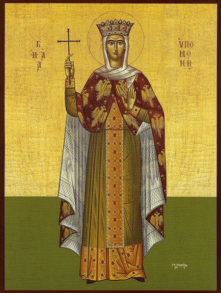 St. Ypomoni (Patience)  the Righteous icon