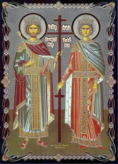 Constantine and Helen Icon (SP)