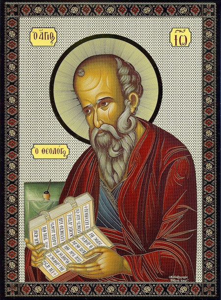 John the Apostle, Evangelist and Theologian Icon (SP)