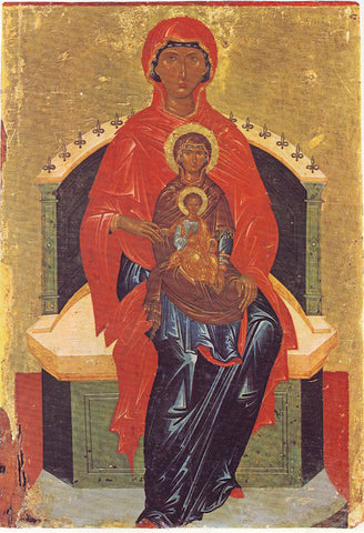 St. Anna with Theotokos and our Savior Jesus Christ icon (2)