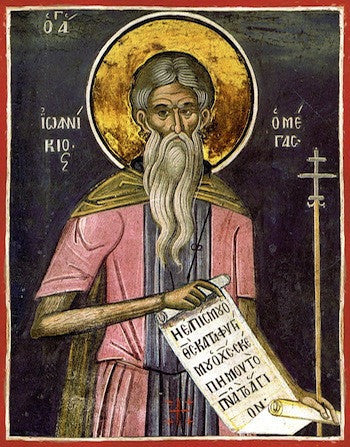 St. Ioannicius the Great icon
