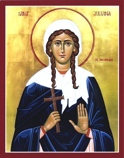 St. Juliana of Nicomedia icon