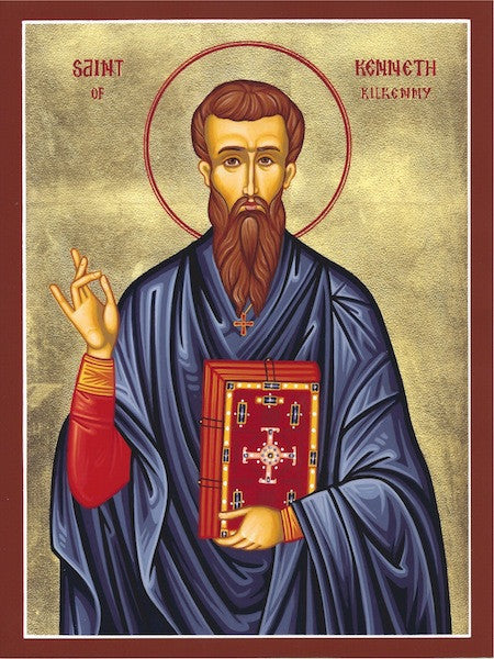 St. Kenneth icon