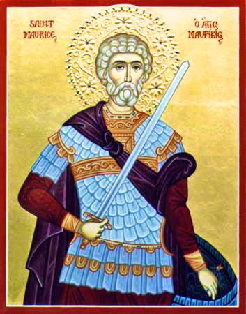 St. Maurice Icon