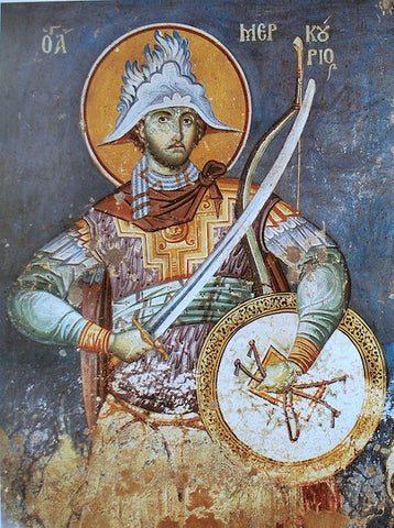 St. Mercurius icon (2)