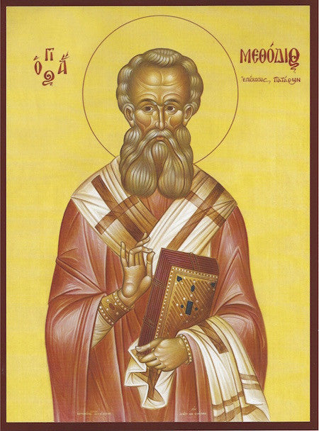 St. Methodius Bishop of Patara icon