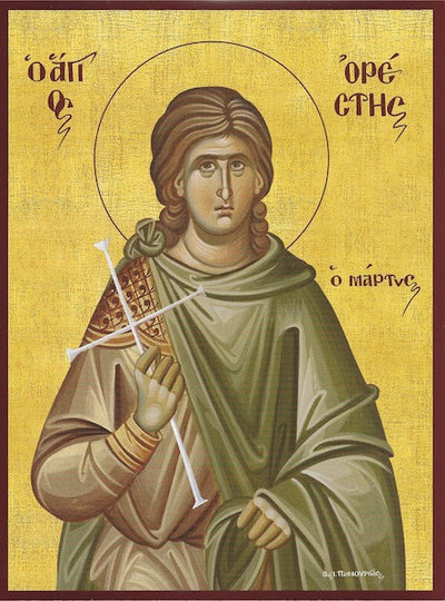 St. Orestes the Martyr of Cappadocia icon