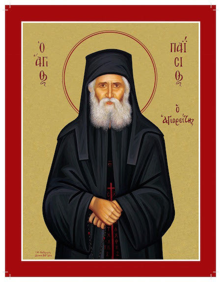 St. Paisios the Elder icon (2)