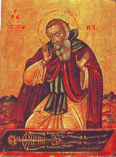 St. Sisoes the Great icon