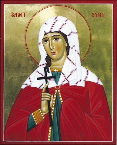 St. Syra Martyr of Persia icon