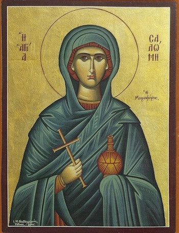 St. Salome the Myrrhbearer icon