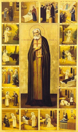 St. Seraphim of Sarov icon