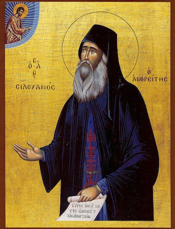 St. Silouan the Athonite icon