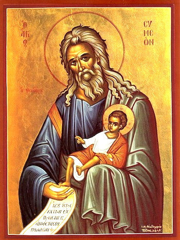 St. Simeon the God-Receiver icon