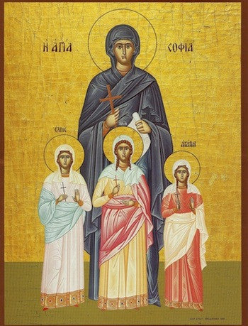 St. Sophia and Daughters icon (1)