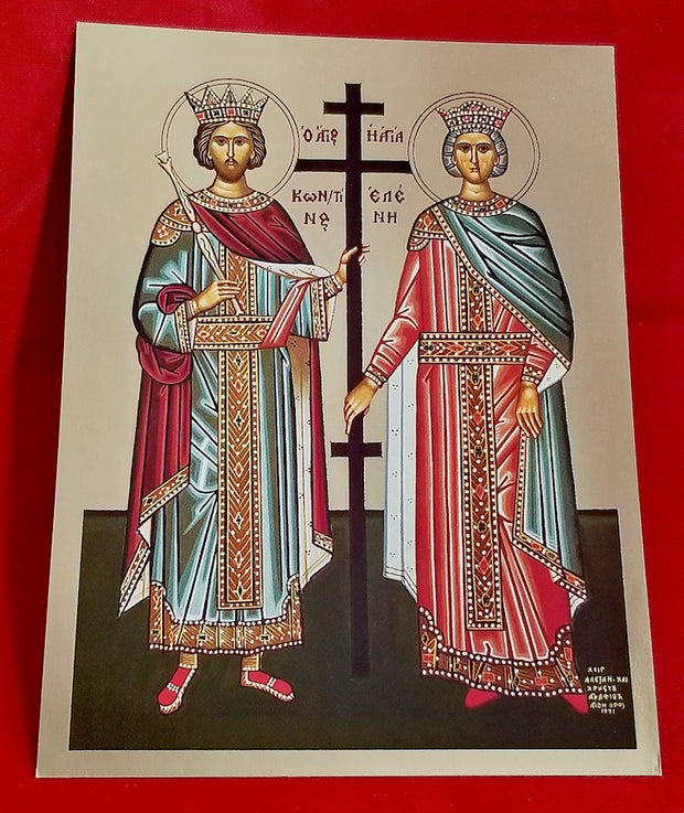 Ss. Constantine and Helen icon (GF)
