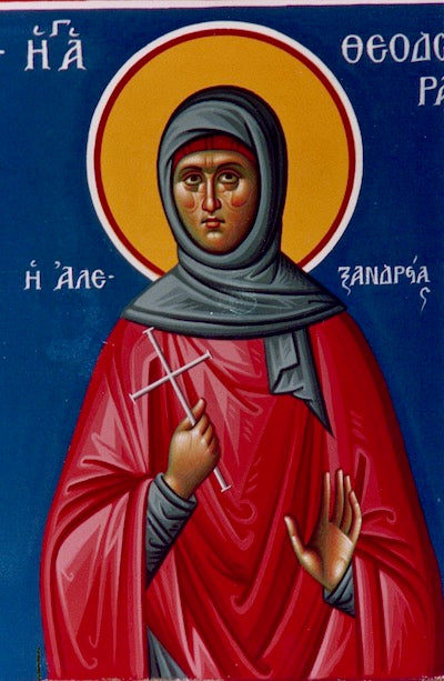 St. Theodora of Alexandria icon