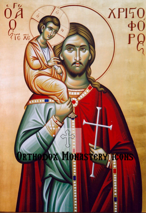 St. Christopher icon