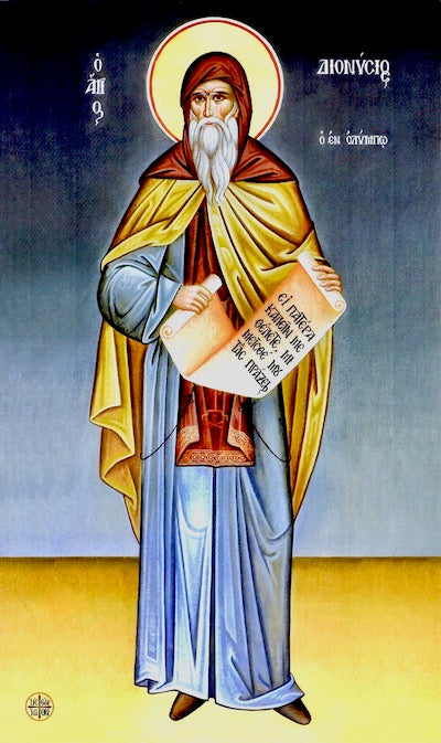 St. Dionysius of Olympus icon