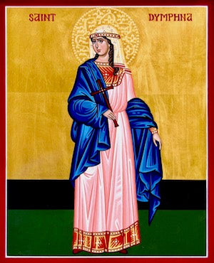 St. Dymphna the Virgin- Martyr  icon