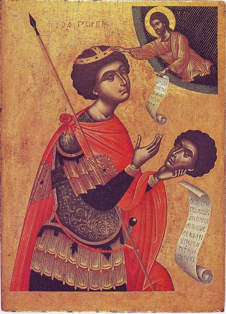 St. George icon (4)