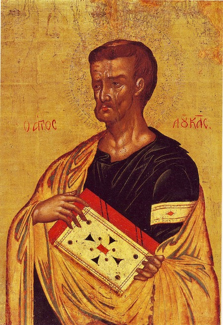 St. Luke the Apostle and Evangelist icon (3)
