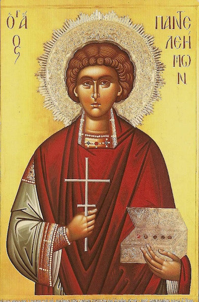 St. Panteleimon icon (2)