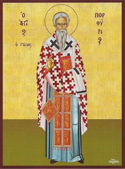 St. Porphyrios Bishop of Gaza