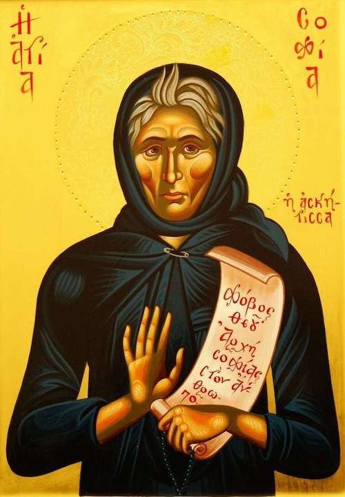 St. Sophia the Ascetic icon