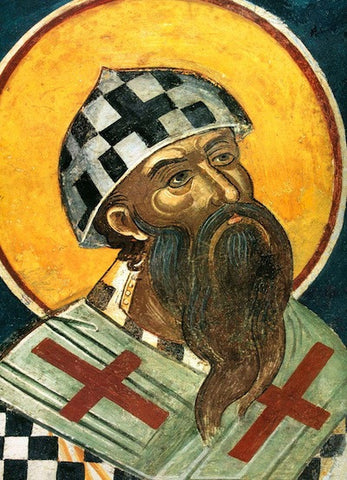 St. Cyril of Alexandria icon