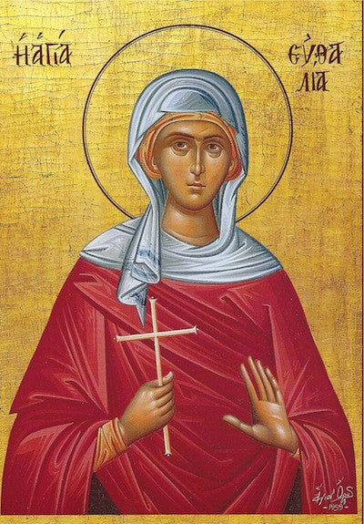 St. Efthalia Virgin-Martyr of Sicily icon
