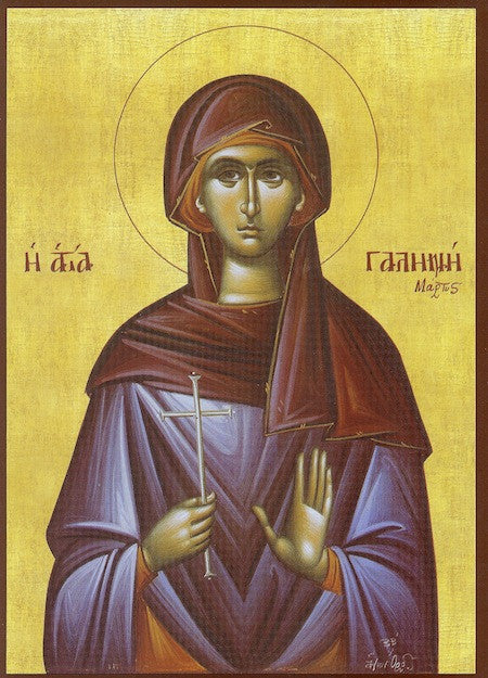 St. Galene the Martyr icon