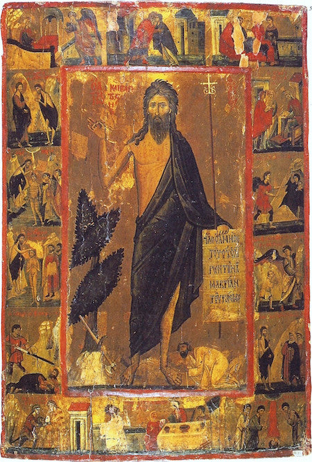 St. John the Baptist and Forerunner icon (9)