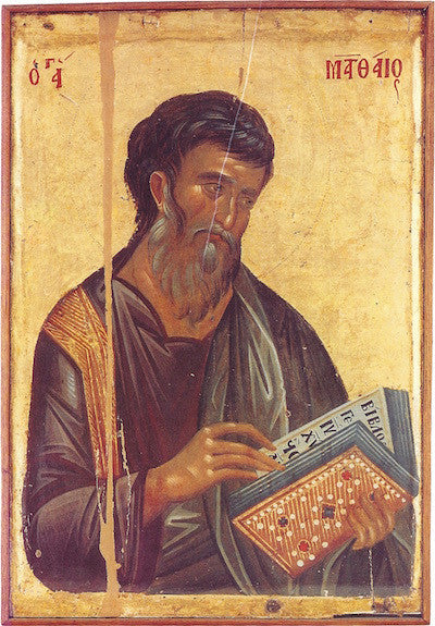 St. Matthew the Evangelist icon (2)